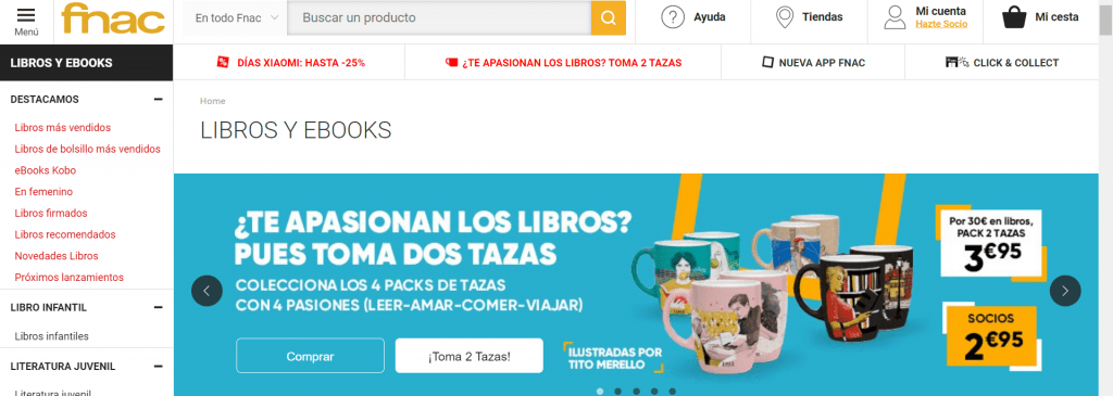 FNAC libros y ebooks